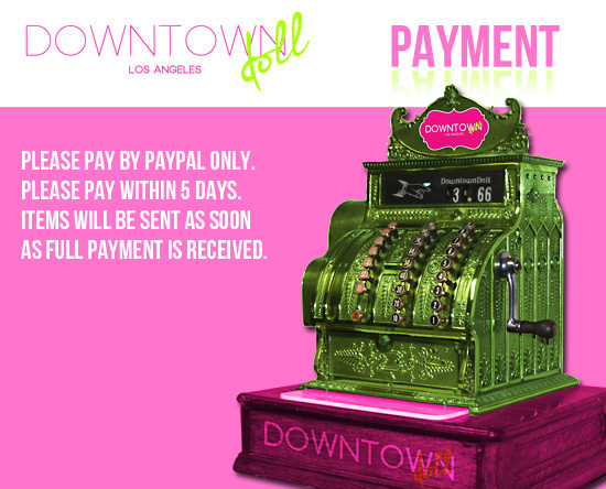 Downtowndoll Payment