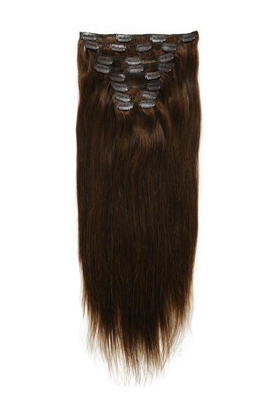 Remy Human Hair Clip In Extensions 160g 98